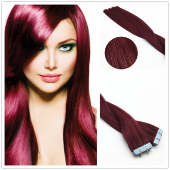 Tape Extensions 50cm -Weinrot# 100g