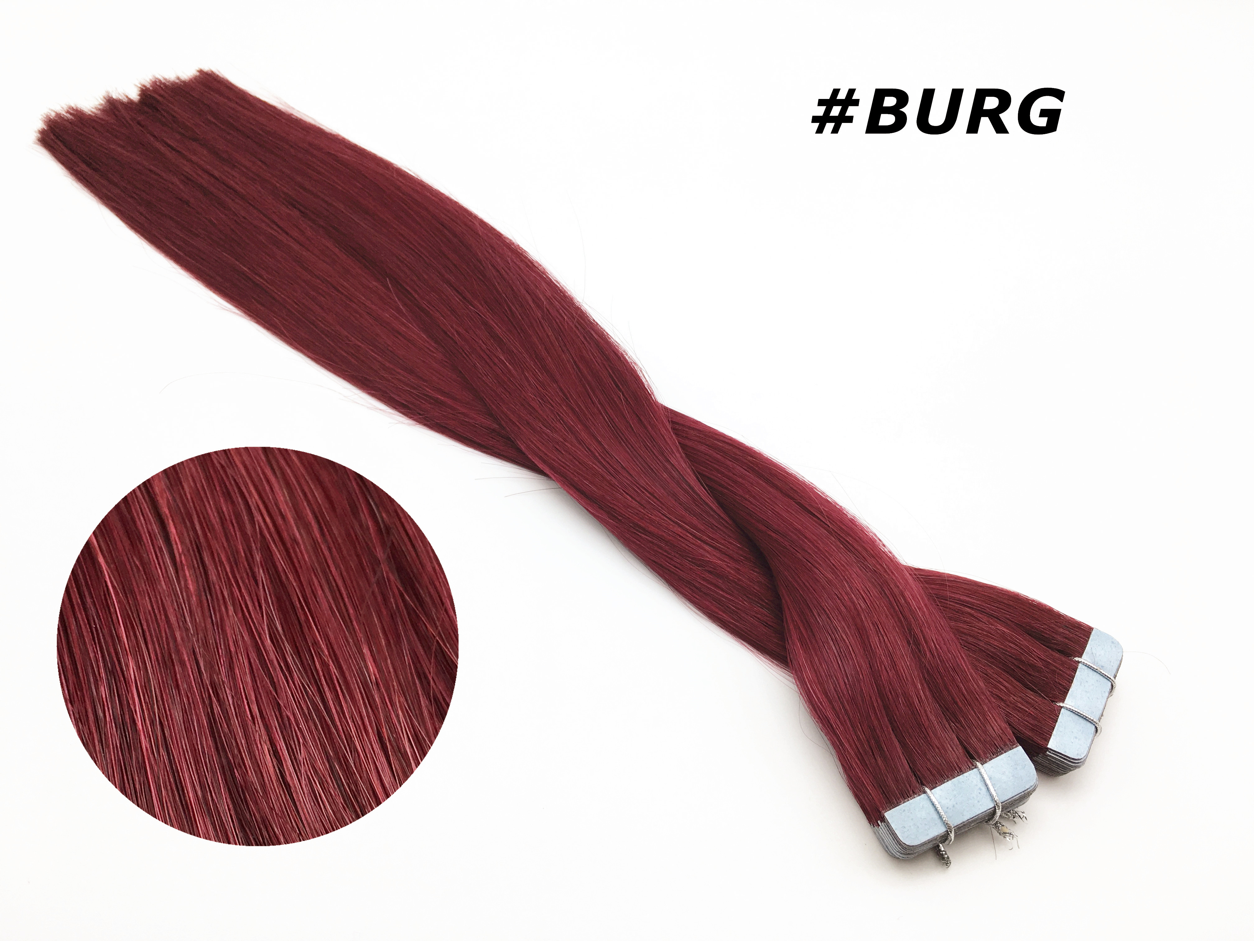 Tape Extensions 40cm -Weinrot# 100g